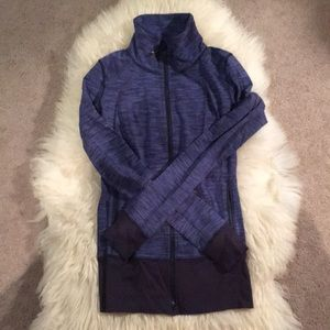 Lululemon two way zip jacket